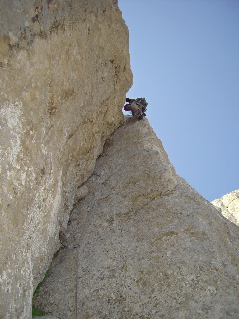 Corno Piccolo - I Spalla Spigolo delle Guide 2012-07-21