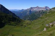 Scendendo all'Alpe Pojala