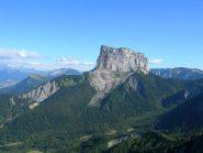Bella veduta sul Mont Aiguille