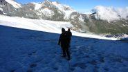primi passi sul Brunegg Gletscher (22-7-2012)