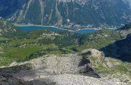 Lago di Ceresole dalla vetta