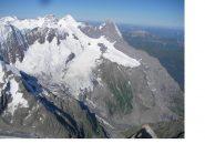 Jungfrau Monch e Eiger dalla vetta...