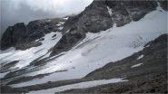 ciò che resta del ghiacciaio