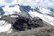Vista dalla Vaudala nord