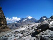 Il Granpa appare al colle di Punta Fourà