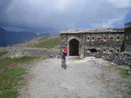 l'ingresso nel forte