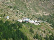La nostra meta: Santuario di Sant'Anna di Vinadio