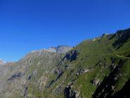 Il sentiero lato val Clarea, Giusalet sullo sfondo.