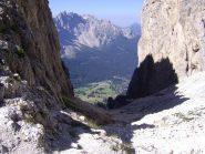 Veduta dal Passo Vaiolon