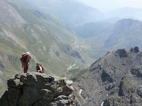 vista eccez su valle Po