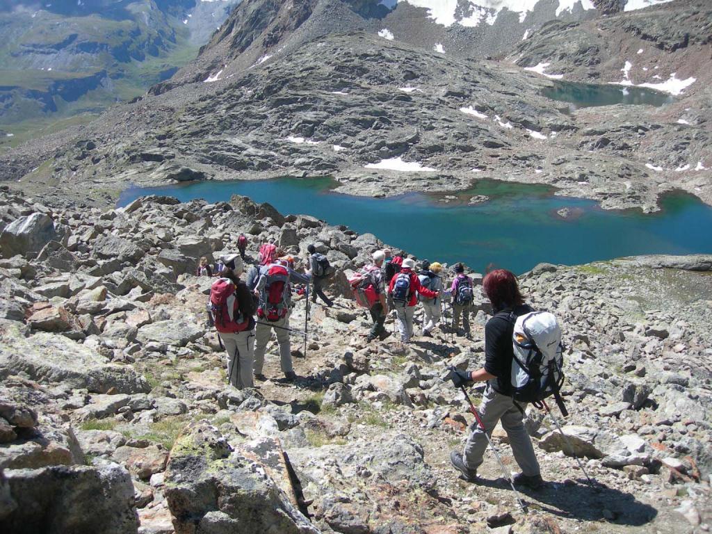 Arbollè (Colle d')da Pila, traversata a Cogne per i colli Chamolè,Laures e Vallone Grauson 2012-07-28