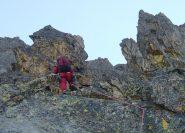 primi tratti di scalata