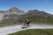 pedalando in uno scenario magnifico!