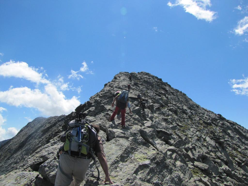 Lucellina (Punta) e Punta Loson Traversata Accademica dal Passo di Casset 2012-07-29