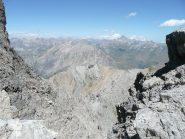 Al colletto a quota 3050 m. appare il Monviso