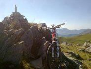 la punta,sullo sfondo l'Alpe del Conte