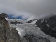 il piccolo ghiacciaio di Verra