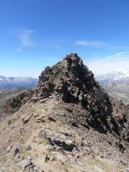 02 - la cresta finale vista dall'anticima