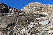 Si passa a destra della cascata