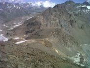 cresta finale vista dalla cima