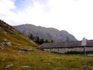 Pizzo di Fontanalba visto da Alpe I Motti