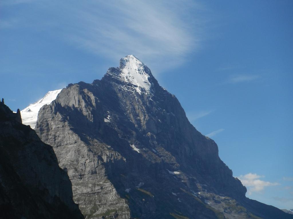 la cresta est e la parete nord dell'Eiger