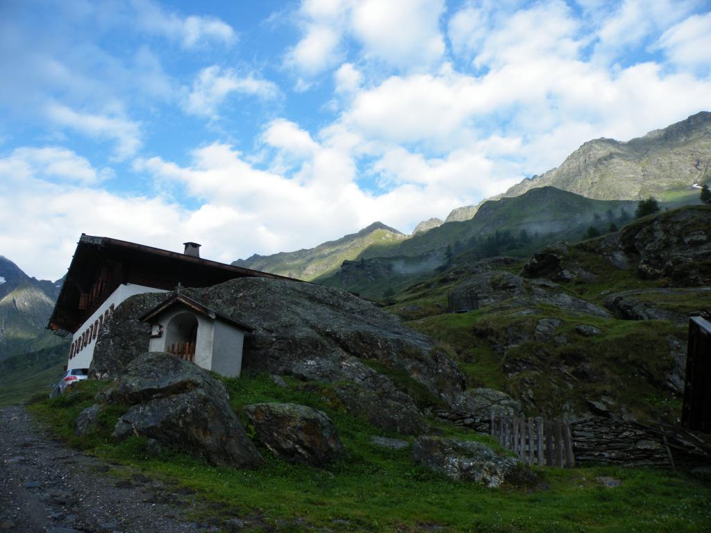 Scabro (Monte) quota 2804 m Traversata Valle del Rombo a Val di Plan per il Bivacco Pixner 2012-08-02