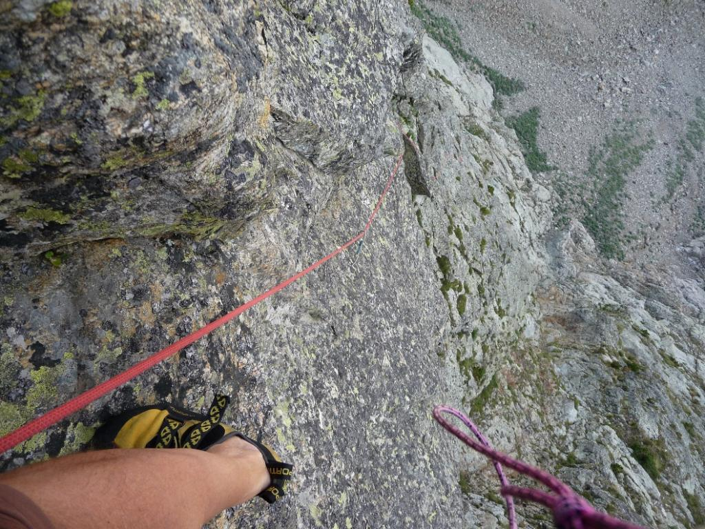 Cayre Barel, 2625 m, avancorpo W Vavavoum 2012-08-03