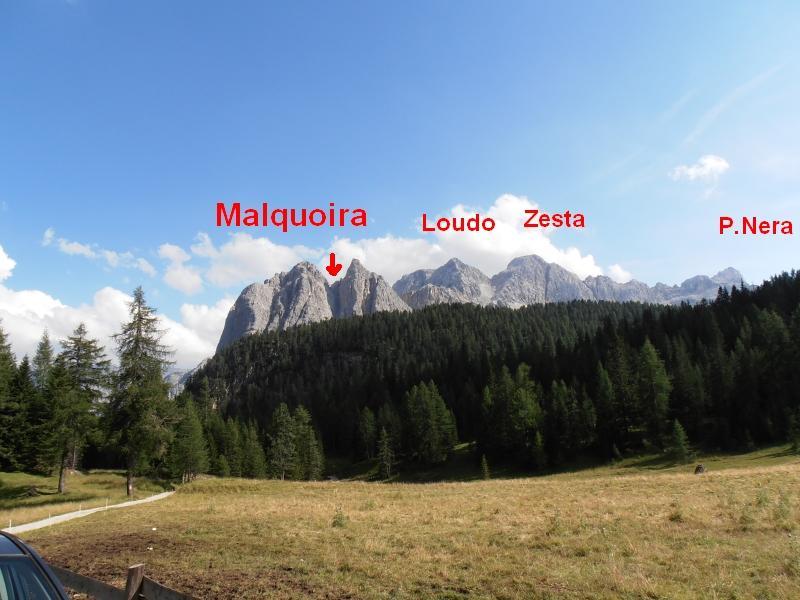 Malquoira (Cime di) Traversata C. di Malquoira-Lago del Sorapiss 2012-08-03