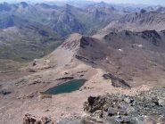 Lago Mongioia e Bivacco Boerio dalla cima