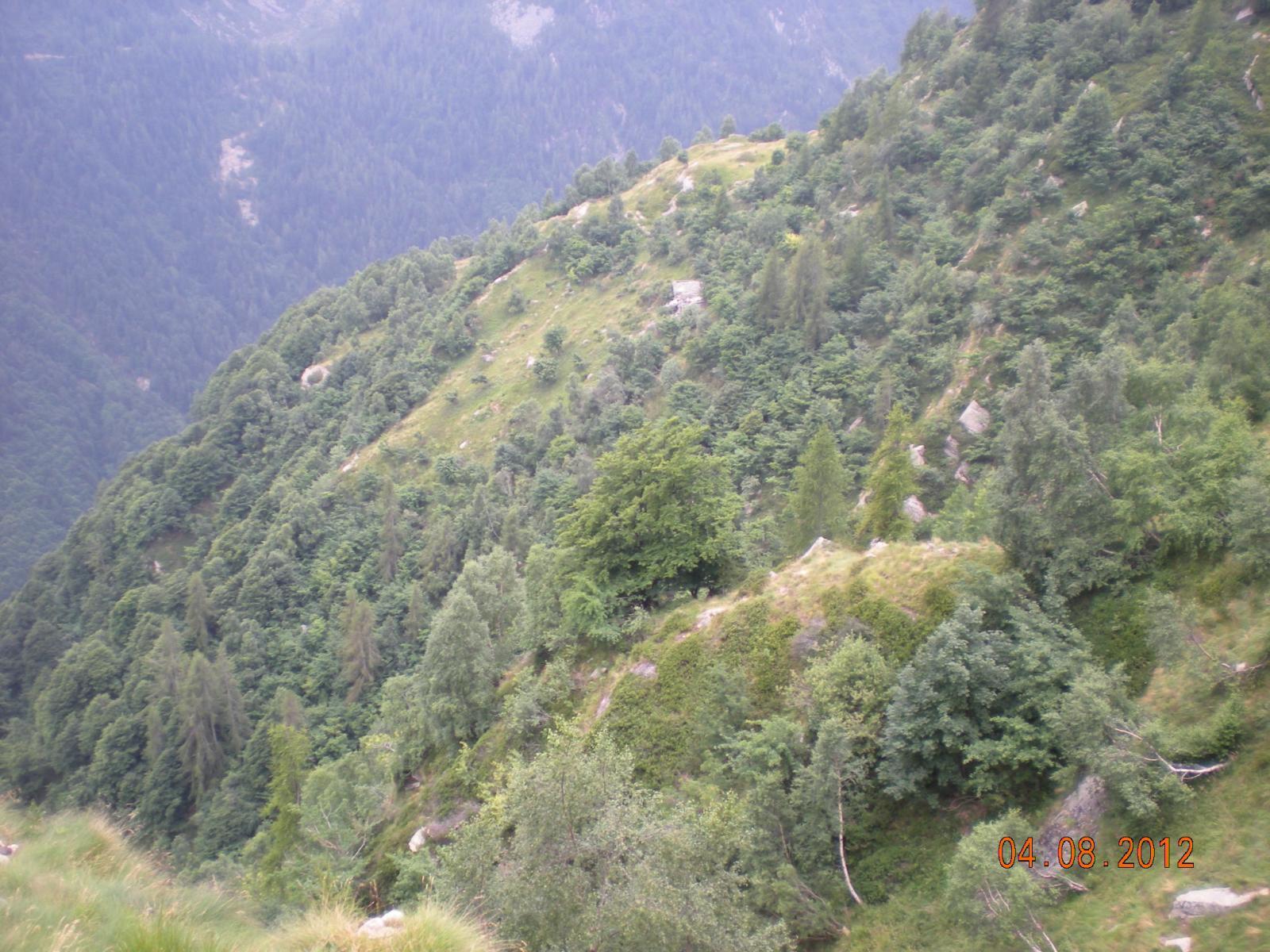 Giurà (Colma del) anello per Val Gronda e Val Sorba 2012-08-04
