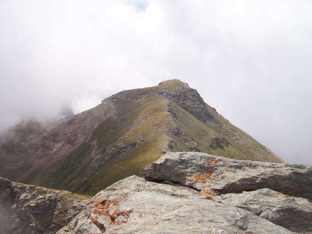 Nera (Rocca) e Punta della Gavia dal Rifugio Selleries per il Lago Ciardonnet 2012-08-04