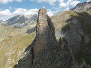 La Torre Castello, dalla Rocca Provenzale