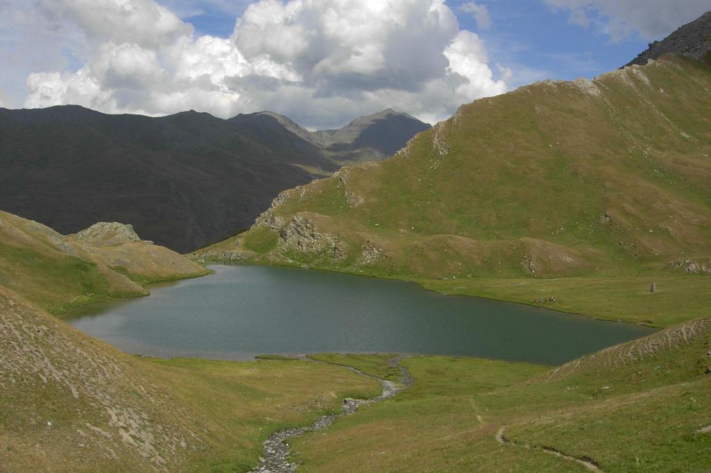 Escalinade (l') e Turge de la Suffie da les Chalps per il Lac des Cordes, anello per il Col de Marsailles 2012-08-05