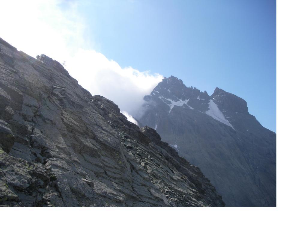 Il Monviso dalla cresta nord della Gastaldi..