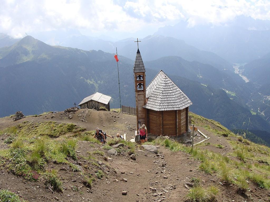 la chiesetta in punta