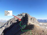 03 - dall'anticima quota 3314 della Rocca d'Ambin verso la cima
