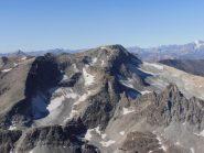 22 - Monte Ambin e Sommeiller con i loro ghiacciai sul versante nord