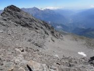 32 - panorama verso la bassa Valsusa dal colletto posto tra Punta Ferrand e Punta Niblé