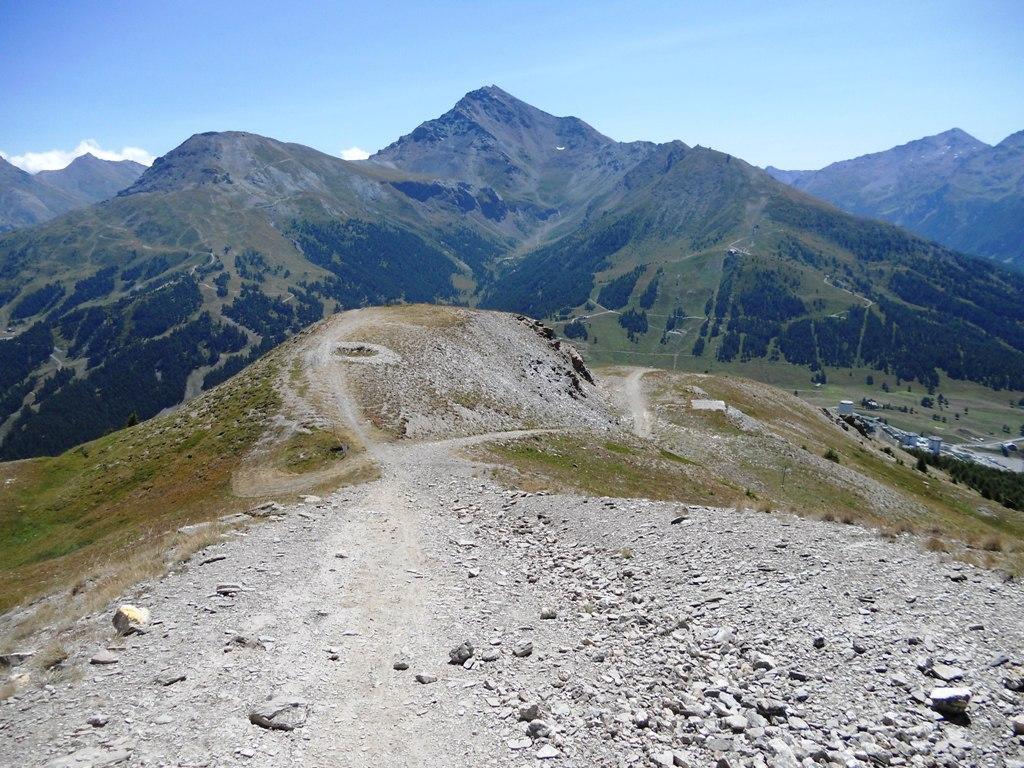Fraiteve (Monte) da Sestriere per il Col Basset 2012-08-08