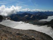 ghiacciaio del Blinnenhorn e lago del Sabbione