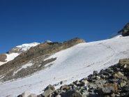 ghiacciaio di Indren e capanna Gnifetti