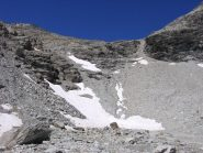 Rientro sotto ex ghiacciaio