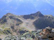 Le cime di Calighè viste dalla vetta del Combolo