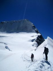 Un tranquillo ritorno sul ghiacciaio