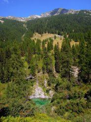 Alpe Campo e torrente Isorno