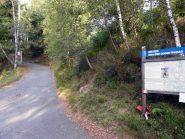 La partenza col Sentiero Frassati