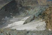 Ghiacciaio dell'Entrelor (quello che si sale con gli sci..) dall'omonima cima