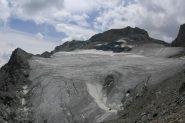 Tragiche condizioni del ghiacciaio dell'Aouille