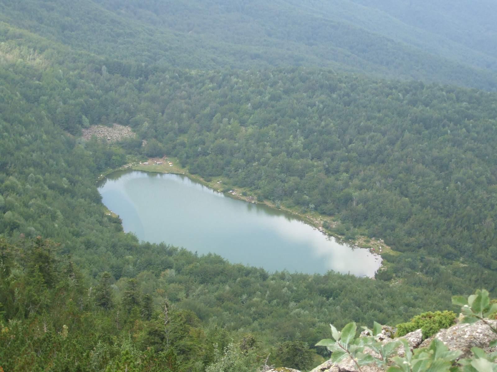 Lago Nero dall'alto